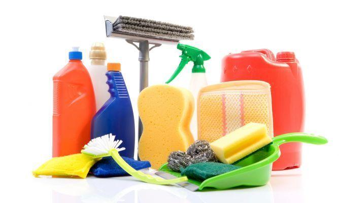 Venta a domicilio de productos de limpieza