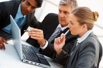 Negocio de asesoramiento financiero para empresas